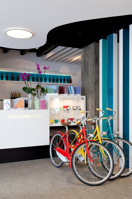 Unique Colourful Design of Pantone Hotel - Inspiring Modern Home