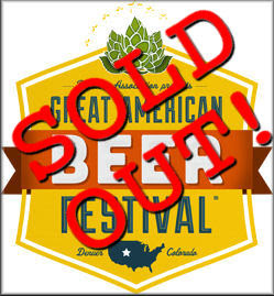 2012 Great American Beer Festival SOLD OUT