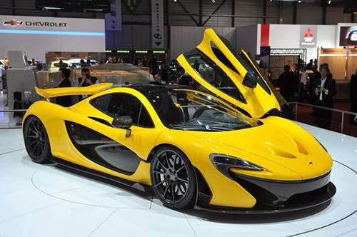 Think Car Gold McLaren P1