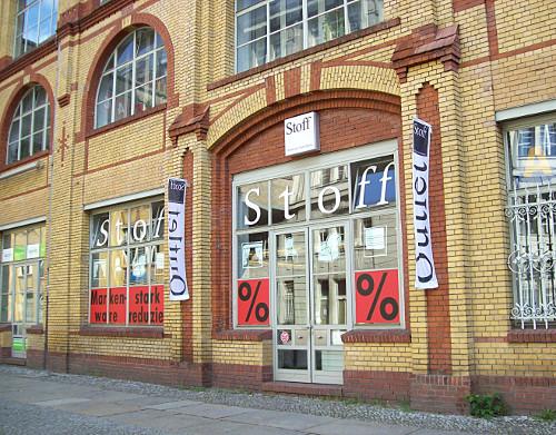 Nahtzugabe. Nähen und DIY in Berlin.: Dekostoffe in den Osramhöfen