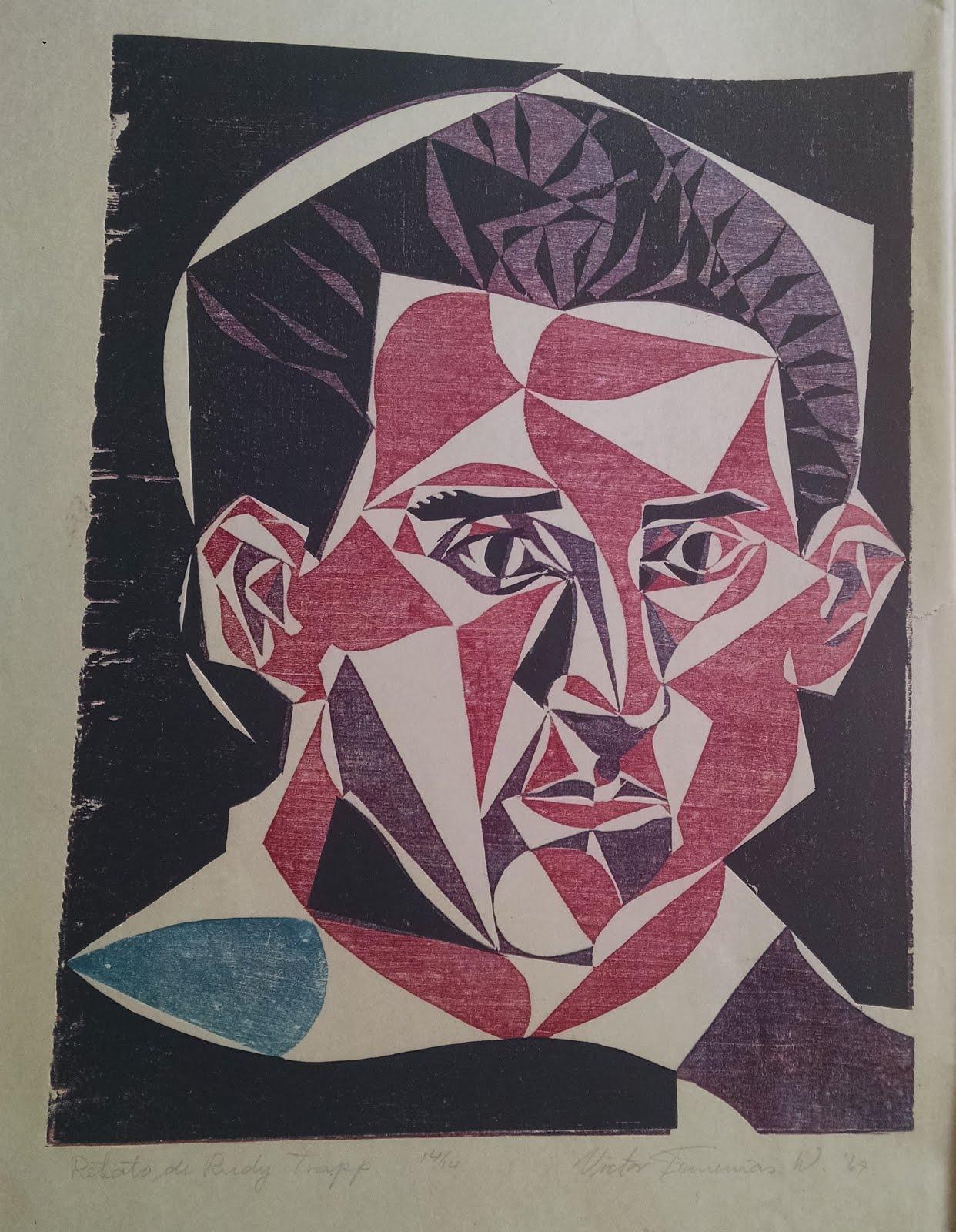 Retrato de Rudy Trapp.