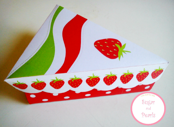 Paper cake-Φραουλίτσα-by Sugar & Pearls