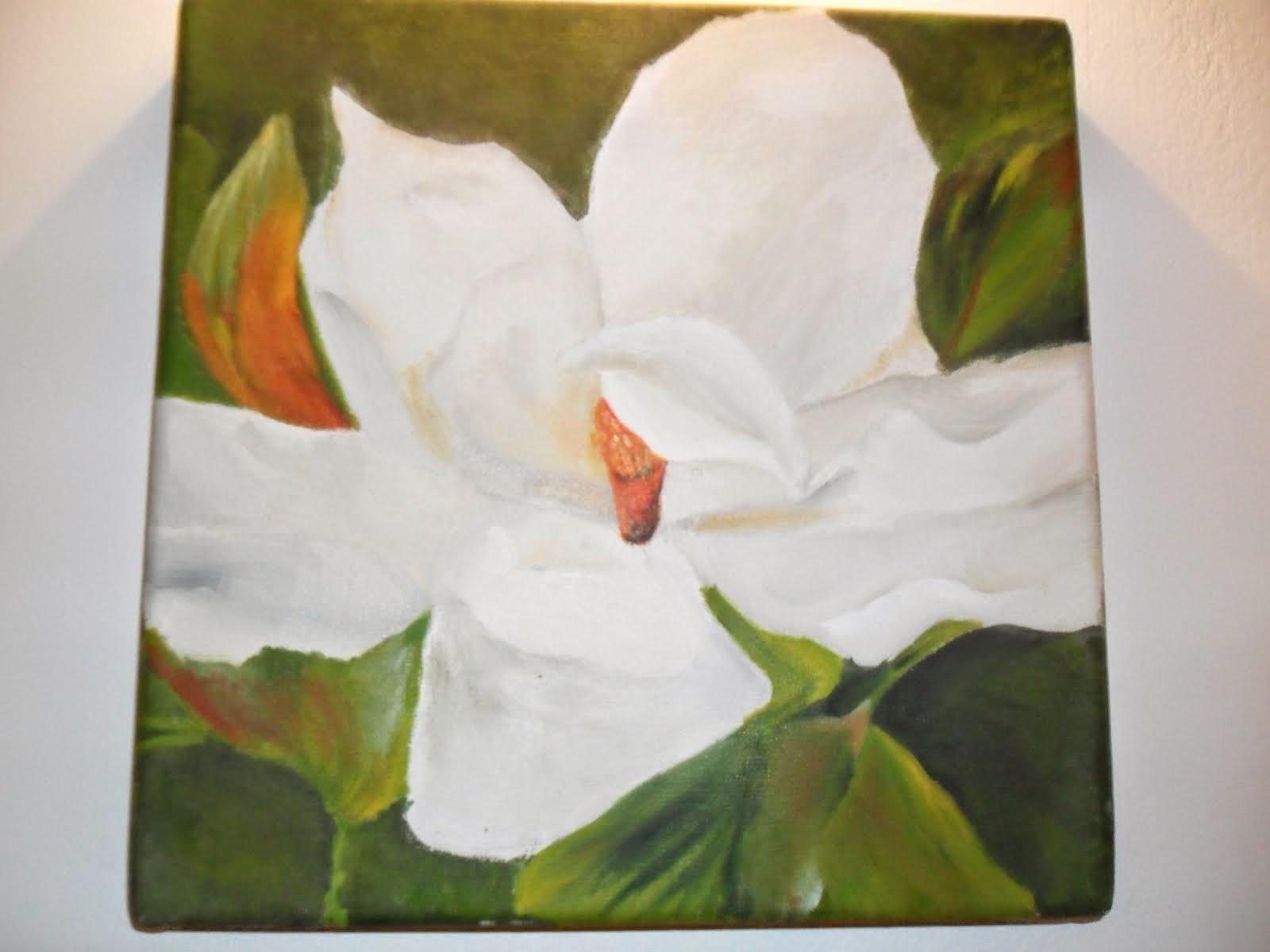 Cuadro de Magnolia