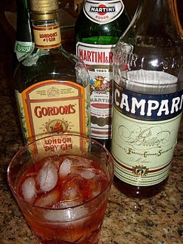 Makings of a NEGRONI