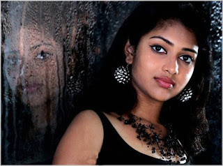 Amala Paul Hot in Black Dress