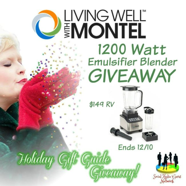 Living Well With Montel 1200 Watt Emulsifier Blender