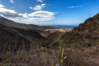 Вид на Тенерифе из Адского ущелья (Barranco del Infierno)