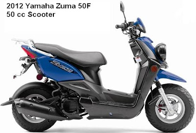 2012 Yamaha Zuma 50F