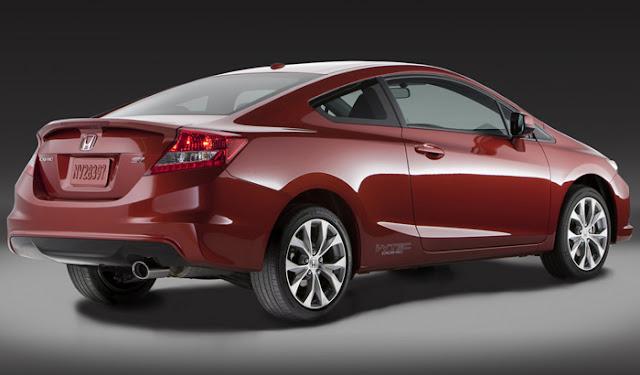Novo Honda Civic 2012 Si Cupe - traseira