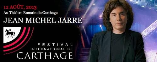 Jarre Live Carthage -Tunisie  2013