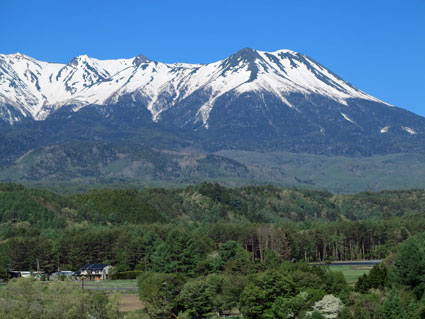 Mount Ontake, 2nd highest volcano in Japan