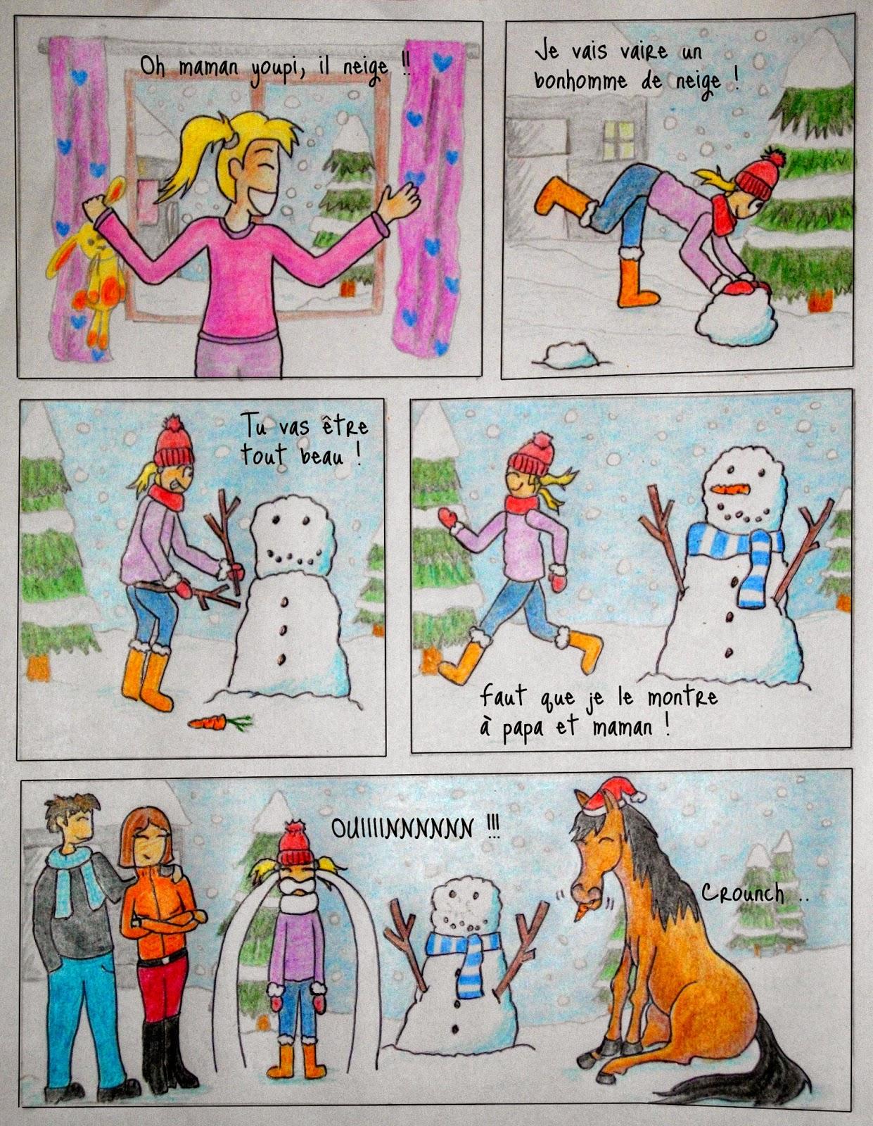 Calendrier de l 39 avent questre 2015 j 17 la carotte du - Calendrier de l avent en bonhomme de neige ...