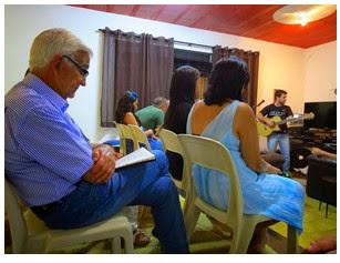 Reunião na Sala Pastoral