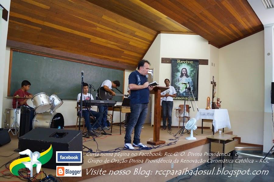 Marcelo Machado conduz momento de Oração pelos núcleos dos Grupos de Oração