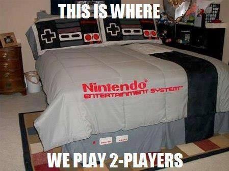 Cama Nintendo