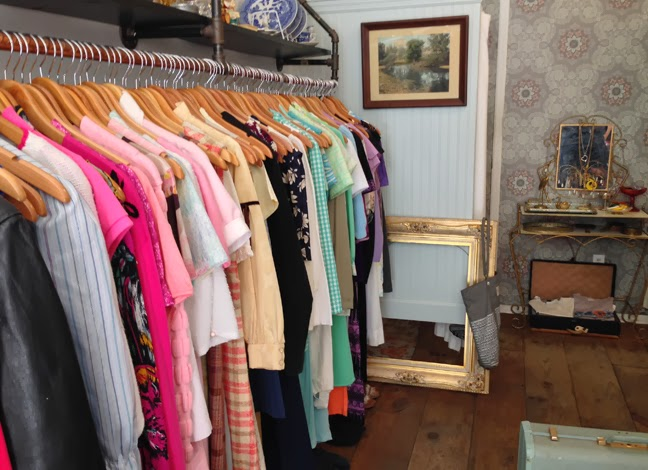 vintage clothing store Antoinette in Williamsburg