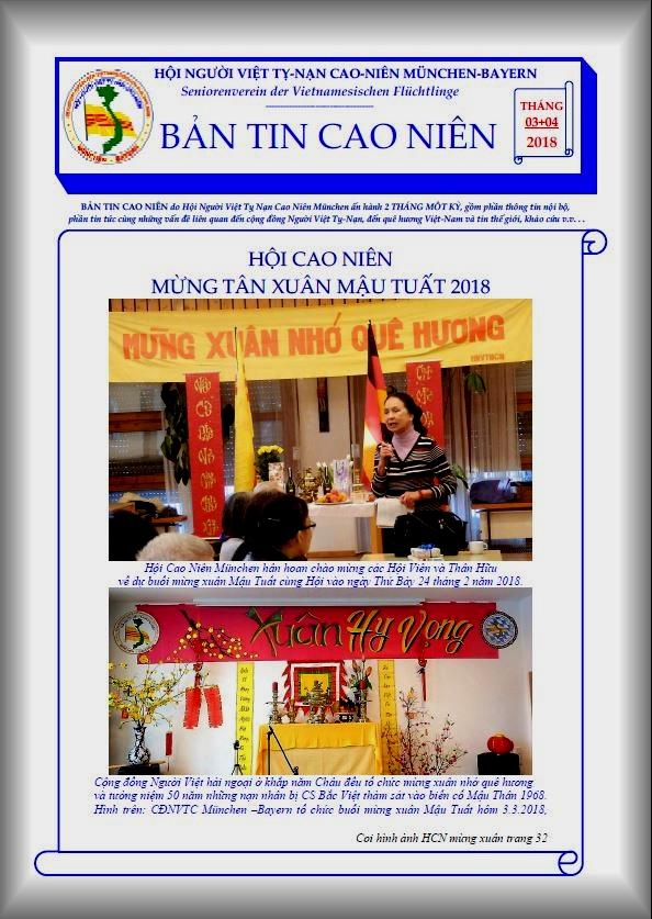 BẢN TIN CAO NIÊN 03+04.2018