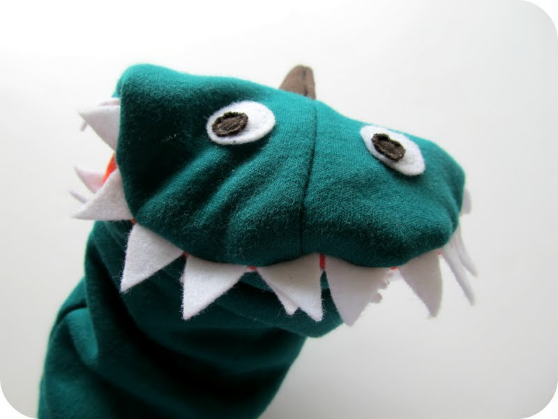 how to make a sock dragon