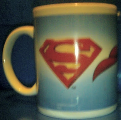 Superman 2006 mug #2 side b