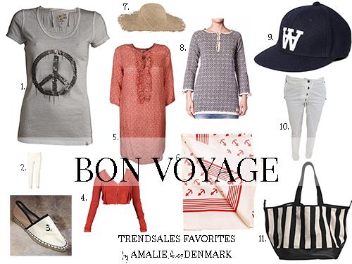Amalie loves Denmark - Mode von Trendsales für den Urlaubskoffer