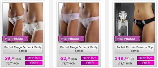 Vedeti aici pachetele promotionale pentru femei