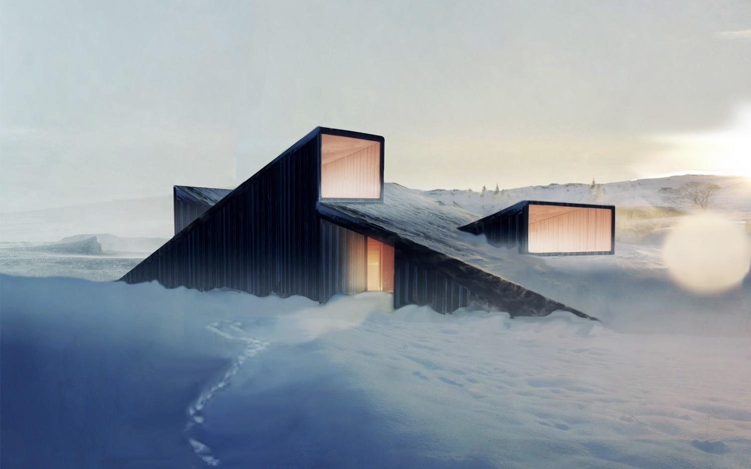 A f a s i a fantastic norway architects for Ski designhotel