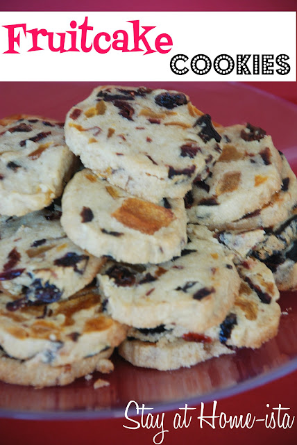 fruitcake cookies, perfect fall Dan winter treat