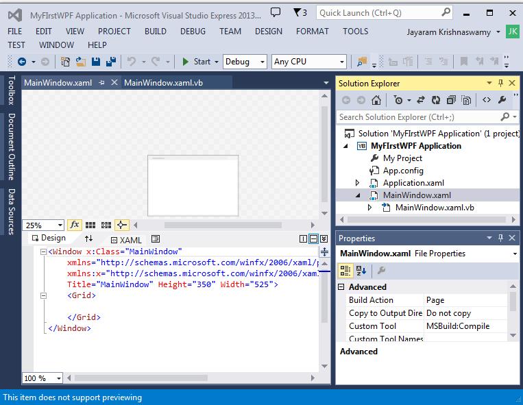 microsoft visual studio express 2013 for windows desktop