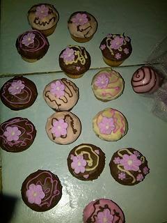 Tiernos cup cakes