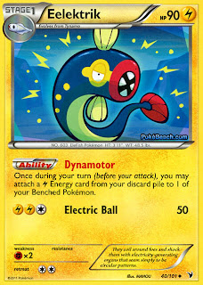 Eelektrik Pokemon Card Noble Victories Set