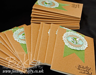 Epic Day / Feel Goods Notebooks for her team by Stampin' Up! Demonstrator Bekka Prideaux