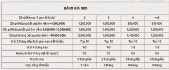 dịch vụ seo website giá rẻ nhất - mẫu 03