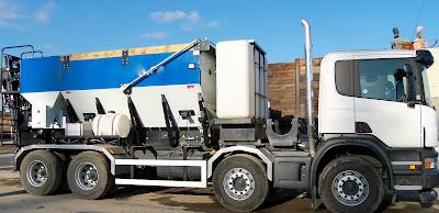 hydraulic repair volumetric concrete mixer