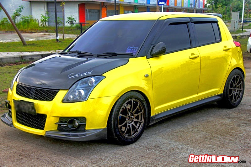 modifikasi suzuki swift 2008