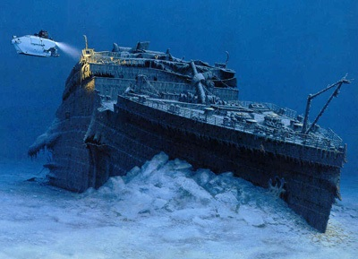 real underwater titanic pictures.  Underwater 1912 RMS Titanic Ship Underwater Photos Intended Real Pictures A