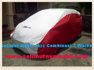 Selimut Mobil Honda Jazz Custom 2 Warna