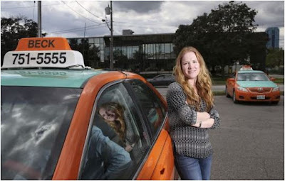 Mother-Daughter Team Up to Make Tracks in the Taxi Business