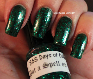 365 Days of Color - I Put a Spell on You (with Zoya Ray base color)