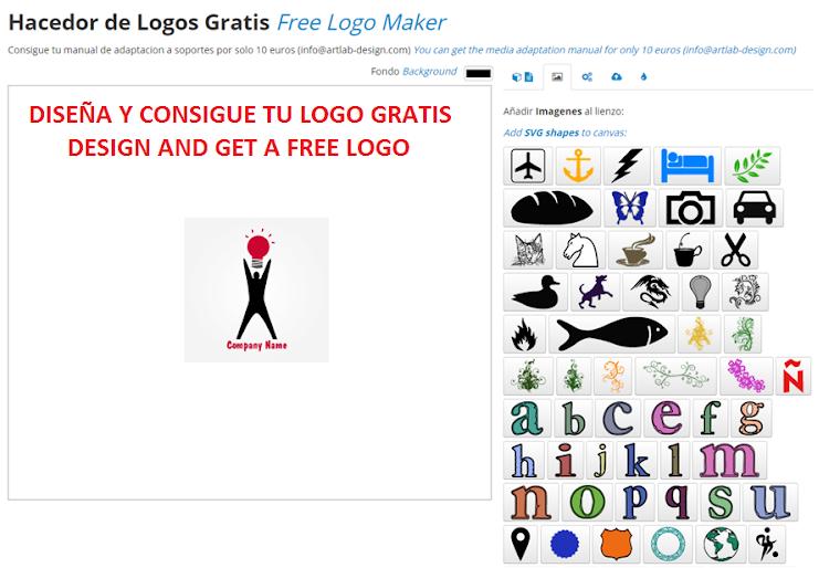 Diseña un logo gratis