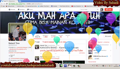 Feature Terbaru Twitter : Happy Birthday !