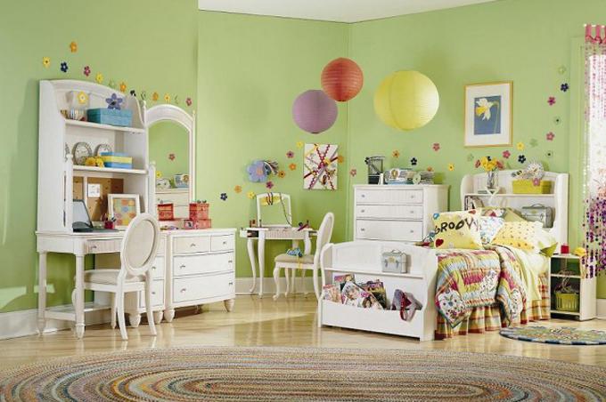 ألبومات صور منوعة: ألبوم صور لغرف نوم أطفال بأثاثها ومفروشات وسرير
