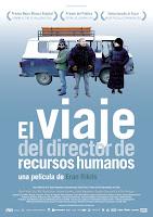 Cartel de la película El viaje del director de recursos humanos