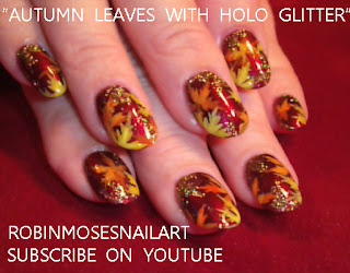 "robin moses nail art ""cute fall nail art"" ""cute fall"
