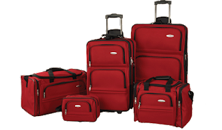 Samsonite 5 Piece Luggage set