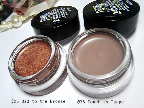Maybelline Bad to the Bronze and Tough as Taupe Color Tattoos