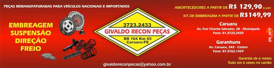 GIVALDO RECON PEÇAS