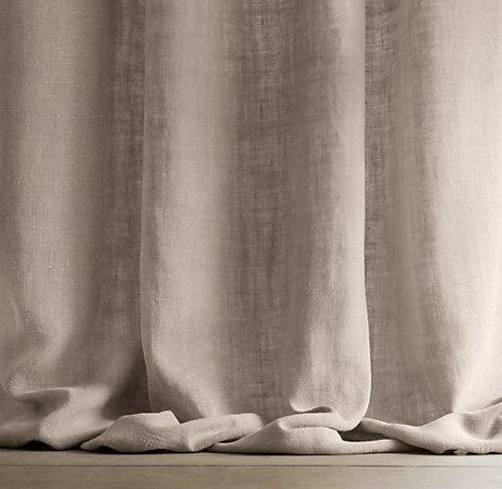 Guida tende tende decorative in lino for Tende lino moderne