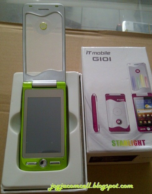 IT mobile G101 flip transparan