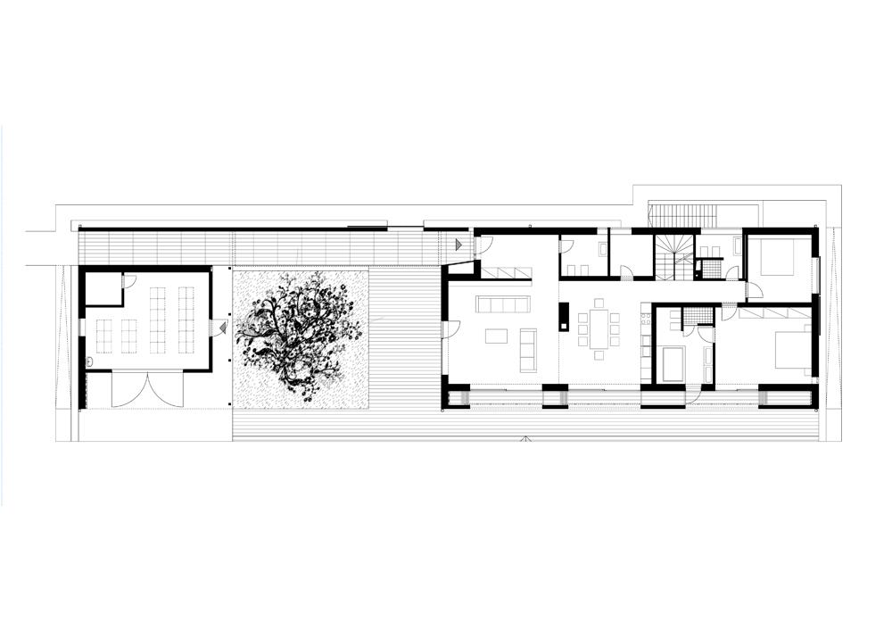 John Pawson Drawings Ground Floor Plan--drawing