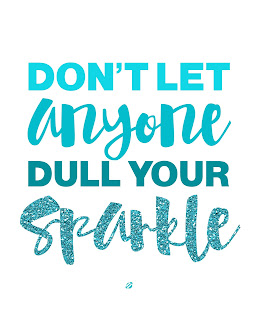 LostBumblebee ©2015 MDBN : Don't let anyone Dull Your Sparkle : Donate to download : Printable : Personal Use Only.